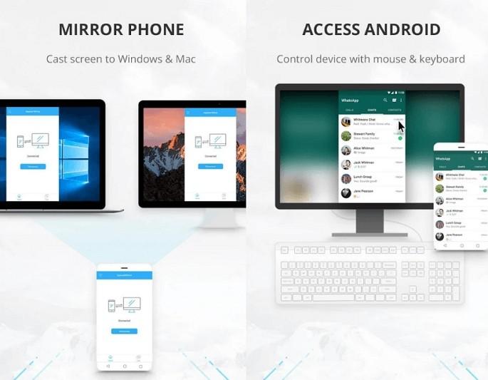Управление телефоном Android с компьютера: через USB и Wi-Fi