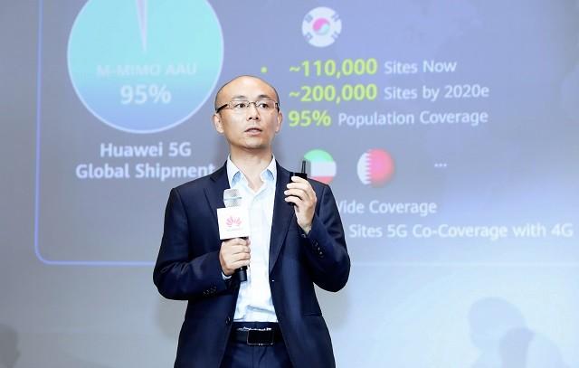 Huawei увеличит число базовых станций 5G в 4 раза до конца года