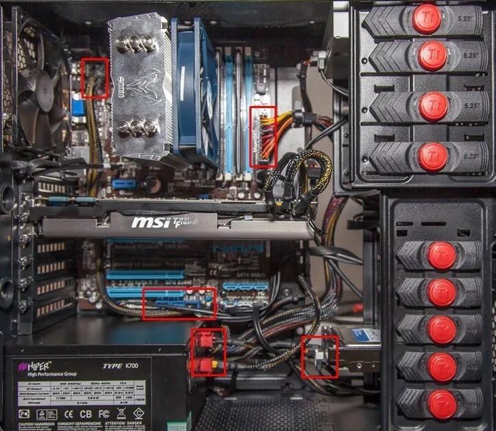 Компьютер выключается при запуске или сам включается: что делать?