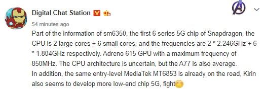 Для очень дешевых смартфонов скоро тоже будет доступен 5G – готовится новый Snapdragon