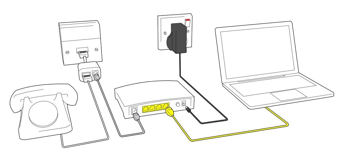 DSL и aDSL-модем: чем отличаются, определение, примеры, порты и подключение