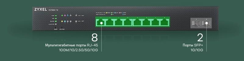 Два новых коммутатора ZyXEL идут на полумеры: поддержка 2,5 и 5 Гбит/c