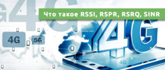Что такое RSSI, RSPR, RSRQ, SINR
