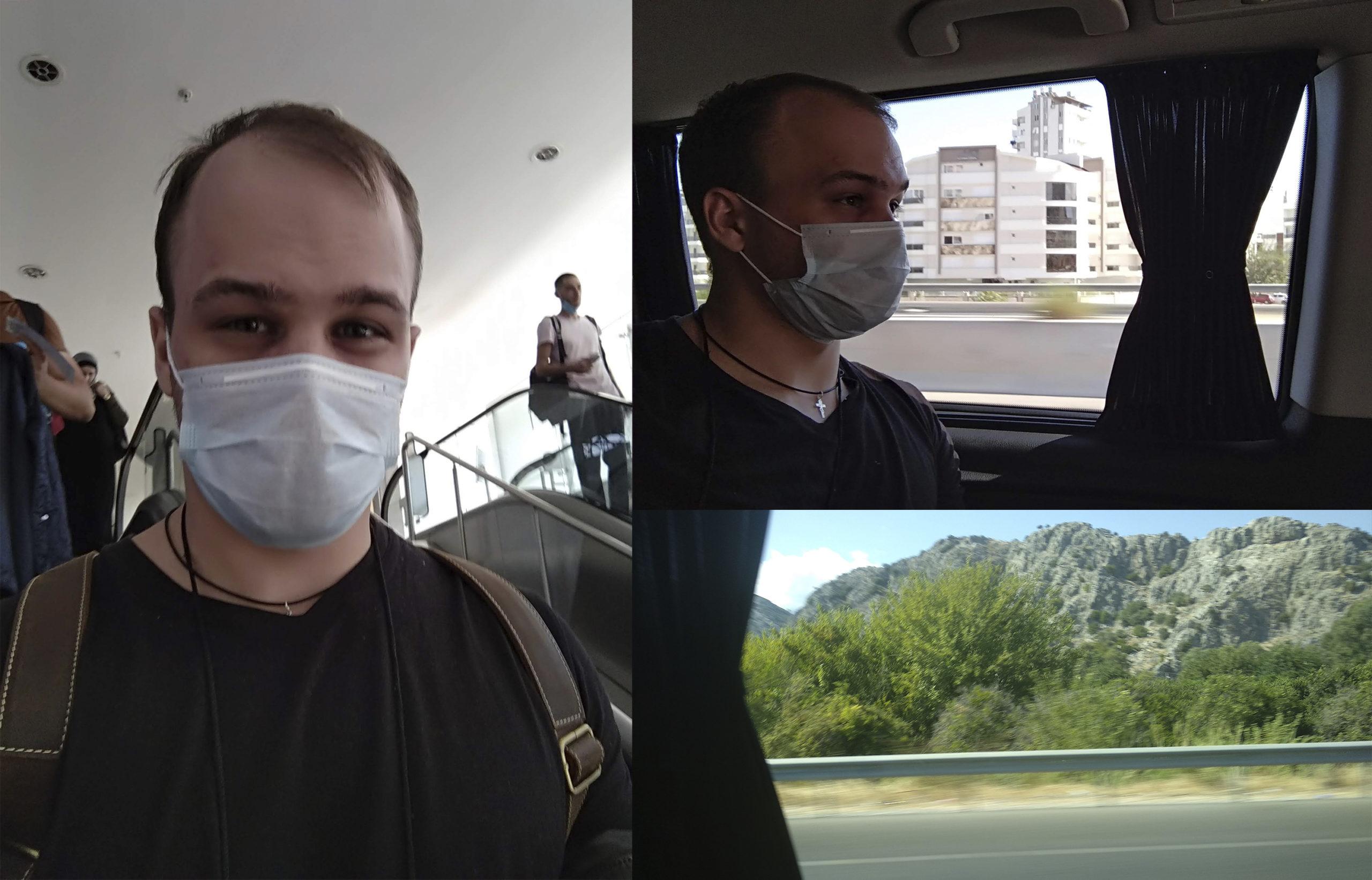 Поездка в отель