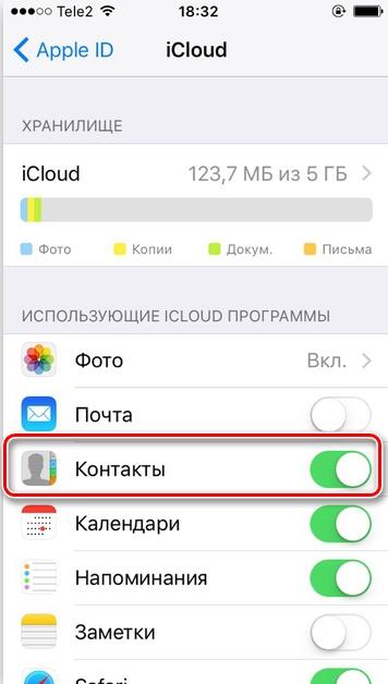 Как скопировать контакты с iPhone на компьютер: через iTunes и iCloud