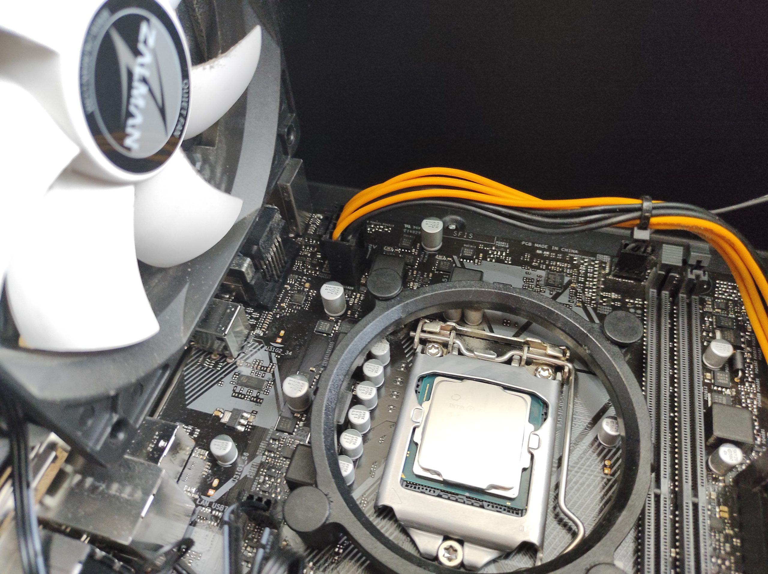 Питание процессора 8 pin