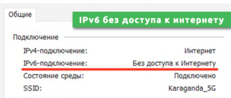 IPv6 без доступа к интернету
