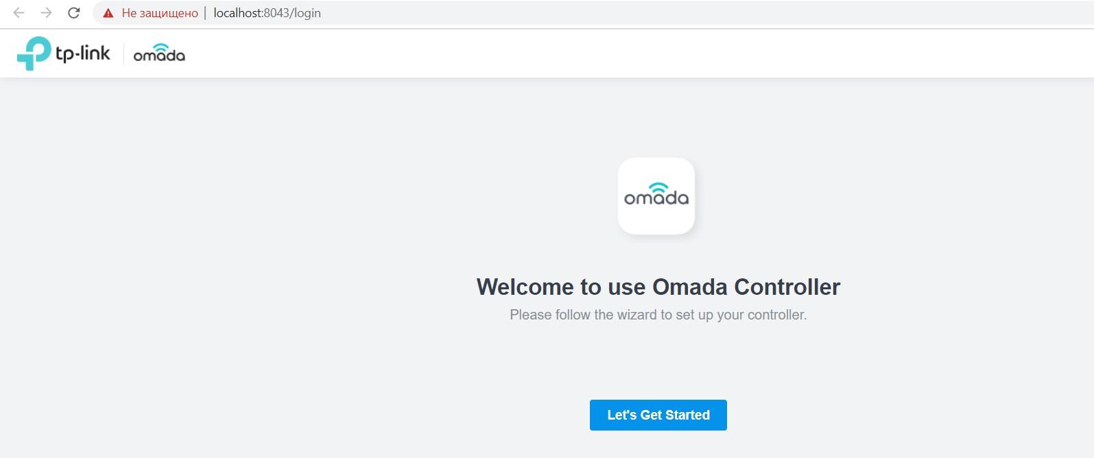 Подключение к Omada Software Controller