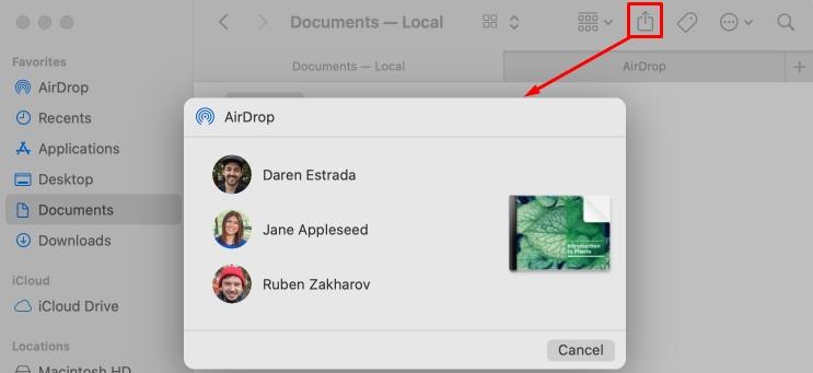 AirDrop на Mac: как включить и пользоваться на MacBook, решение проблем