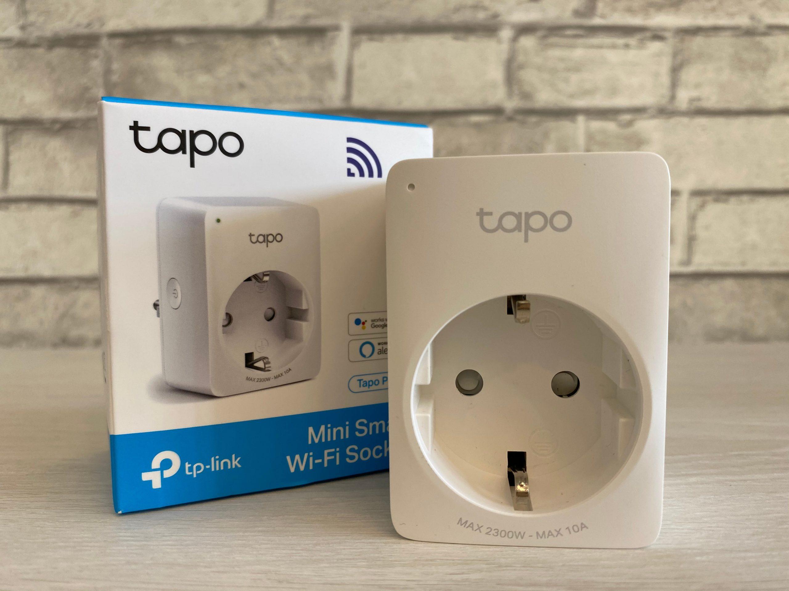 TAPO P100 Упаковка и розетка