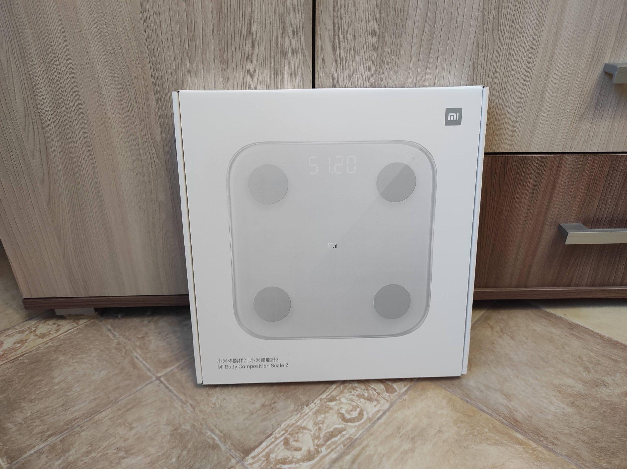Mi Scale 2 - Коробка