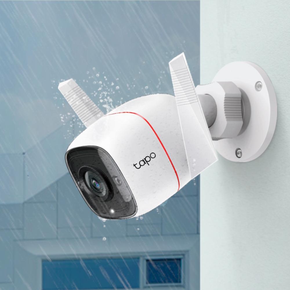 TP-Link представила в России уличную Wi-Fi камеру TAPO C310