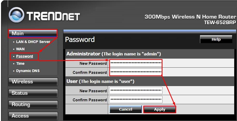Настройка роутера TRENDnet TEW-652BRP за 5 минут