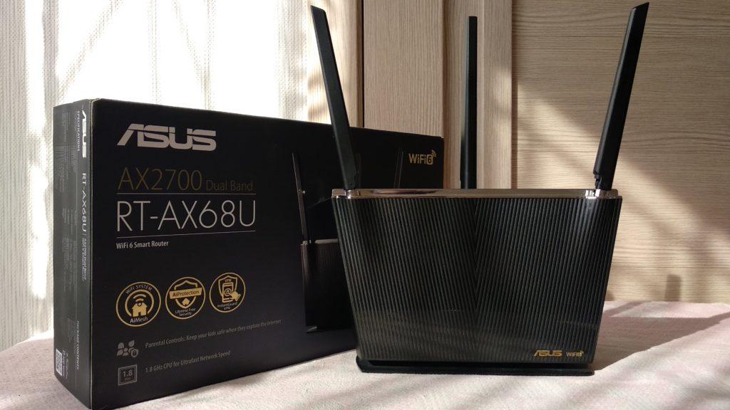 Обзор и настройка ASUS RT-AX68U (AX2700): недостатки и преимущества нового роутера