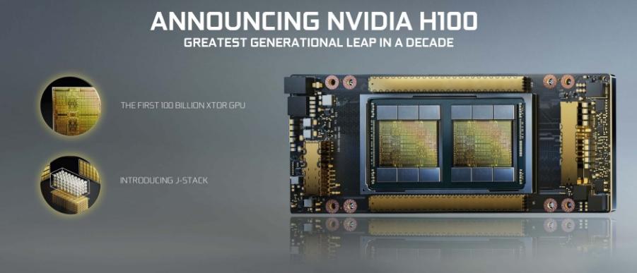 Новая видеокарта NVIDIA H100 Hopper: 146 терафлопс и 100 миллиардов транзисторов