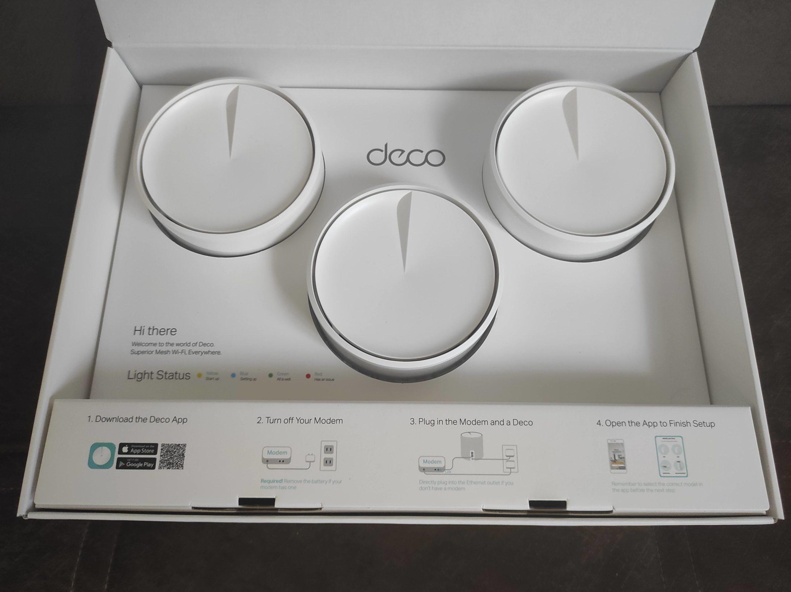 Deco X20 Коробка внутри