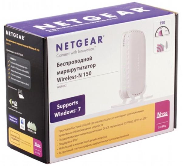 NETGEAR WNR612 N150: подключение, настройка интернета, Wi-Fi, характеристики, плюсы, минусы
