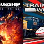 Раздача Mothergunship и Train Sim World 2
