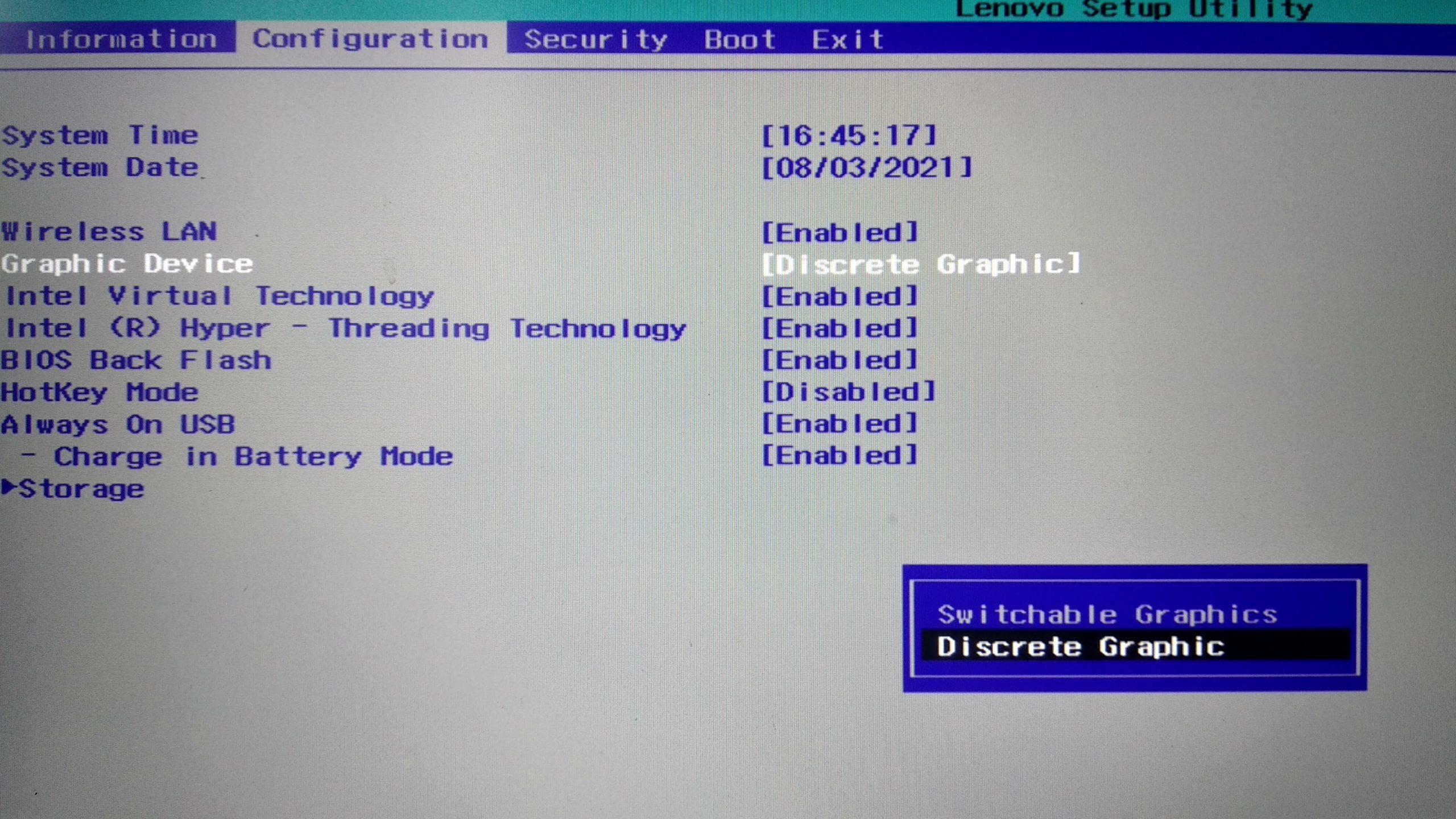 Мерцает экран на ноутбуке после обновления BIOS или драйверов