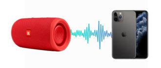 Как подключить iPhone к колонке через Bluetooth