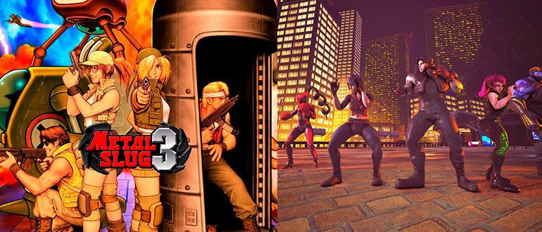 Раздача Hybrid Force и Metal Slug 3 для Xbox