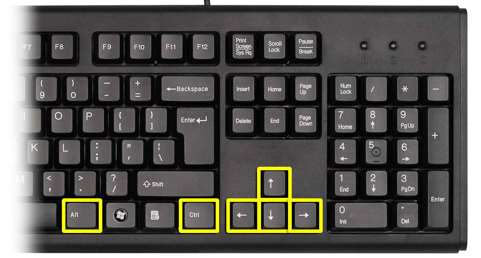 Как перевернуть экран на компьютере или ноутбуке: комбинация клавиш и другие способы