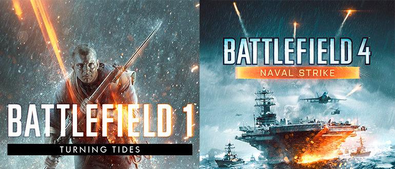 Раздача сразу двух DLC для Battlefield 1 и 4